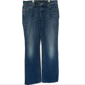 Lucky Brand Dungarees Mid-Rise Bootcut Jeans
